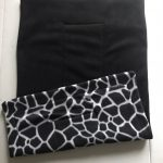Gorgeous giraffe print for your cage or sofa