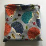 Funky Hedgehog Print Snuggle Sack