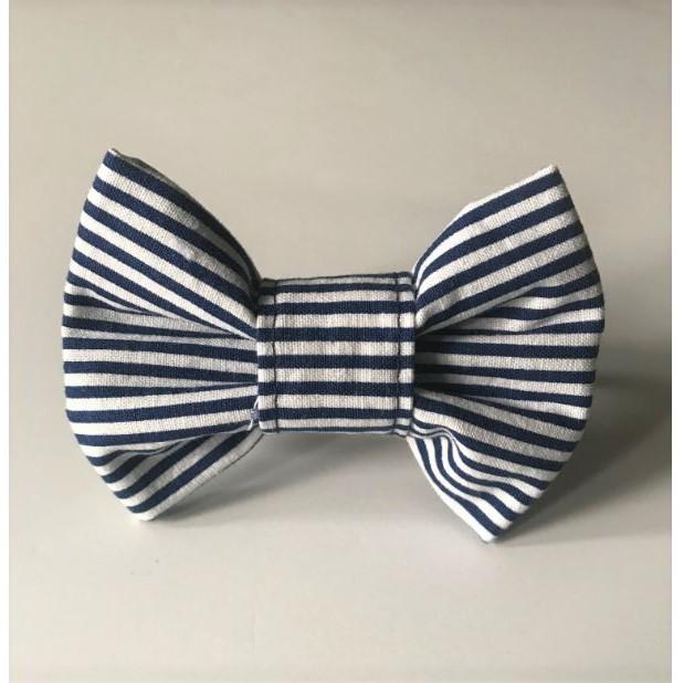 Striped-bow-tie