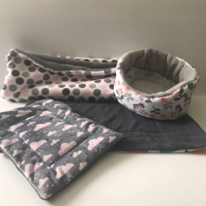 Snuggle Sack Round Bed Pet Pillow and lap pad